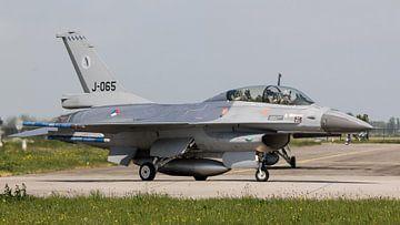 F-16BM J-065 322sqn Leeuwarden van Neno Plat