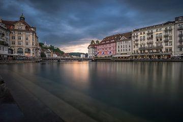 Luzern: Altstadt van