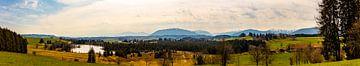 Blick von Wildsteig von W.Schriebl PixelArts