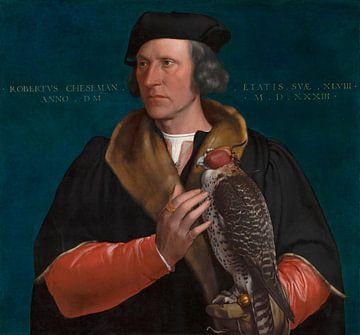 Porträt von Robert Cheseman, Hans Holbein d.J.