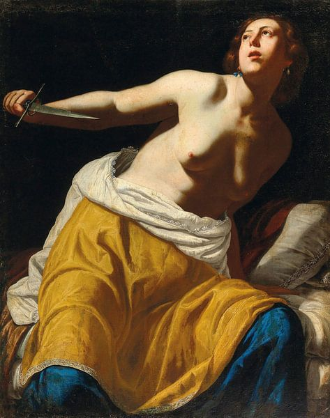 Lucretia, Artemisia Gentileschi von Meesterlijcke Meesters