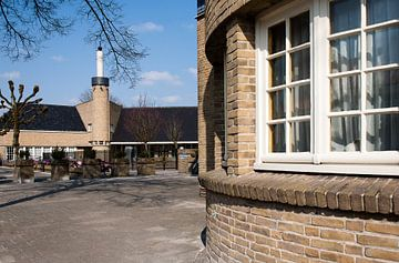 Schoolgebouw van architect Dudok sur Arthur van Iterson