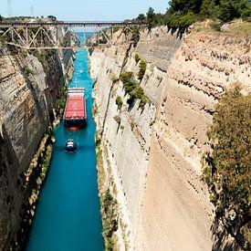 Grèce - Canal de Corinthe sur Marianne van der Zee
