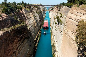 Griekenland - Kanaal van Korinthe van Marianne van der Zee
