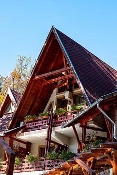 Knus balkon van Amber de Jongh