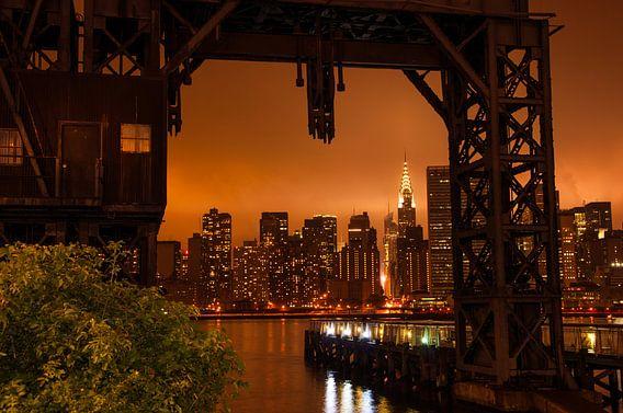 New York  im Abendrot