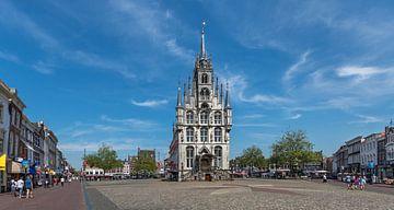 Oude stadhuis van Gouda van Rinus Lasschuyt Fotografie