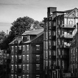 Industriële Mistley in Zwart & Wit van Urban Photo Lab