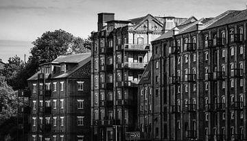 Industrial Mistley in Schwarz & Amp; Weiß von Urban Photo Lab