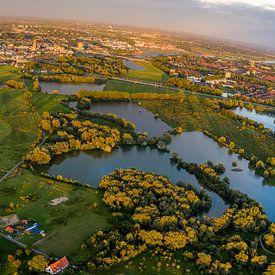 Arnheim aus der Luft gesehen von Arjan Almekinders