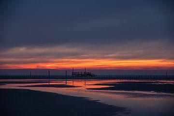 Reflectie op het strand van Annett Mirsberger