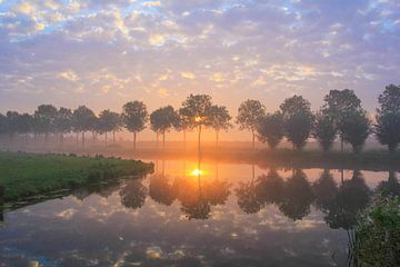 hemelse zonsopkomst von Ab Donker