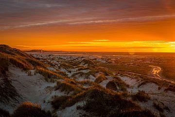 Vliehors Vlieland in de avond van Gerard Koster Joenje (Vlieland, Amsterdam & Lelystad in beeld)
