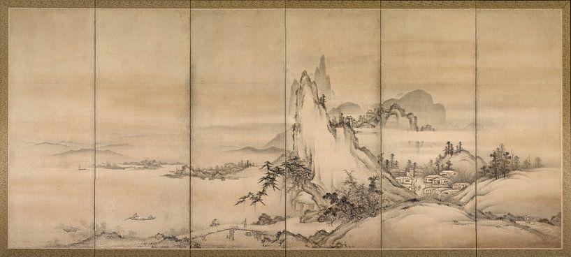 Chinesische Landschaft von 1000 Schilderijen