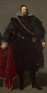 Porträt des Graf-Herzog von Olivares, Diego Velázquez