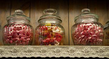 Gränna's Granny's Candy Jars van Ton van Buuren