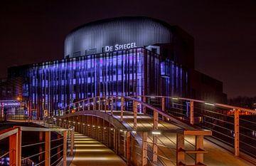 Theater De Spiegel Zwolle van Karel Frieswijk
