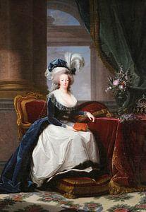 Porträt von Marie Antoinette, Königin von Frankreich, Élisabeth Vigée-Le Brun