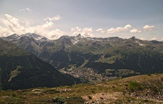 Het Dorp in de Vallei / Val d'Anniviers (Zwitserland)