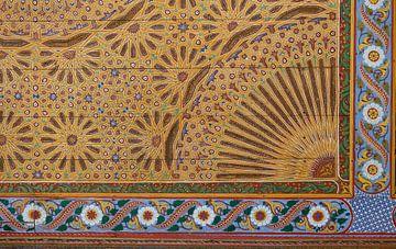 Bahia Paleis, Marrakech, detail van Maarten Hoek