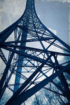 Stalen toren - Müngstener brug van Dirk Wüstenhagen