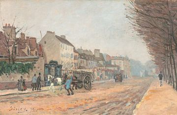 Boulevard Héloïse, Argenteuil, Alfred Sisley