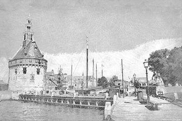 Hoorn Hollande du Nord Pays-Bas Port sur Hendrik-Jan Kornelis