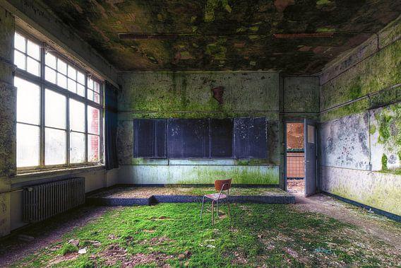 Het klaslokaal van Truus Nijland