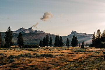 Yosemite Coucher de soleil (Tuolumne Meadows) sur Arthur Janzen