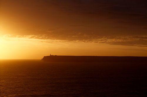 Zonsondergang Cabo de São Vicente  Sagres - Portugal  van