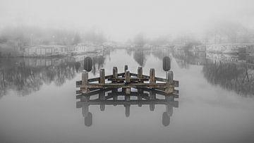 Meer in de mist van Jan Hermsen