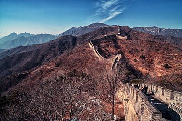 Chinesische Mauer von Hans van Oort