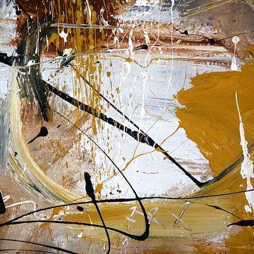 abstraktorange von Christin Lamade