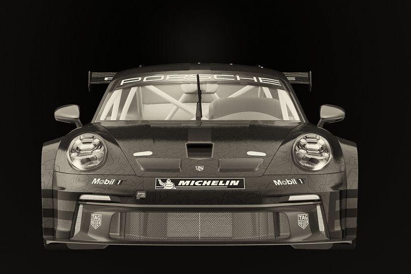 Porsche 911 GT-3 RS - Cup 2021 raceauto van Jan Keteleer