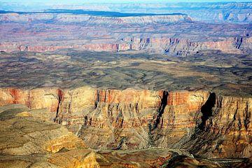 Grand Canyon vanuit de lucht van