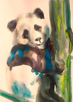 Panda Strom von Helia Tayebi Art