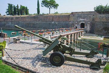 Het fort van Peschiera del garda van