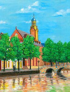 Leiden schilderij Academiegebouw