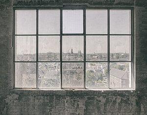 Verlaten plekken: Sphinx fabriek Maastricht uitzicht van