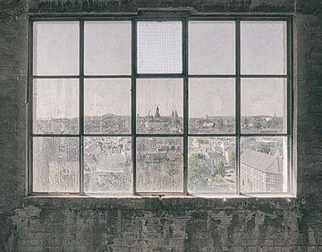 Verlaten plekken: Sphinx fabriek Maastricht uitzicht sur Olaf Kramer