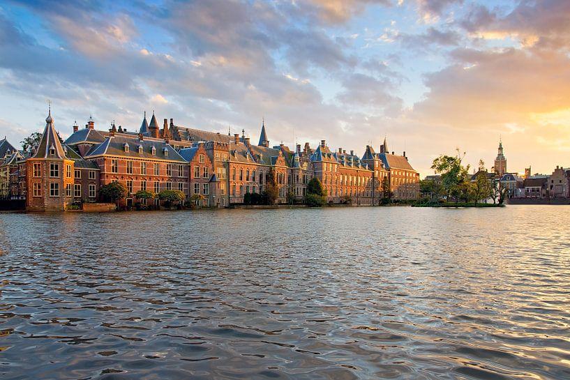 Binnenhof Den Haag van Anton de Zeeuw
