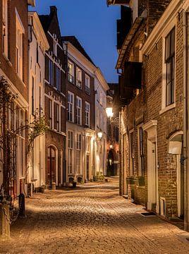 Bergstraat Deventer, Nederland van Adelheid Smitt