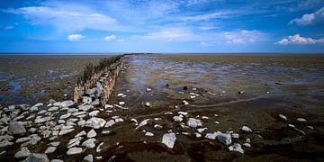 La mer des Wadden près de Wierum sur Jenco van Zalk