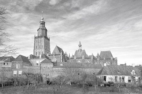 Zutphen, de stadswallen.