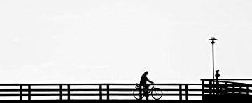 Der Radfahrer van Heike Hultsch