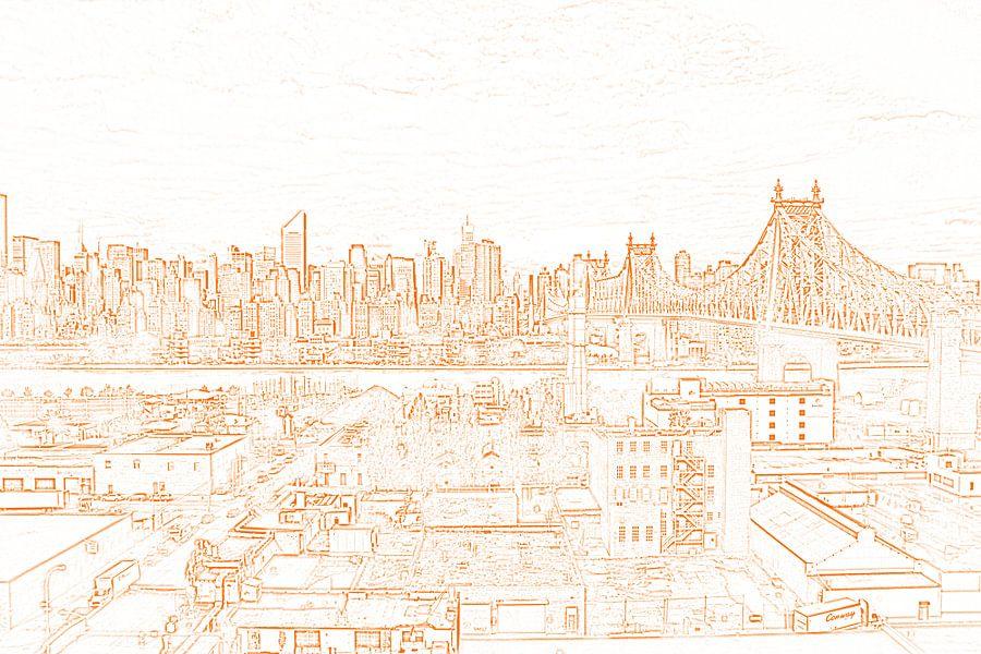 Manhattan with Queensboro bridge
