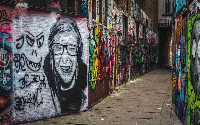 Grafitti van Erik de Boer