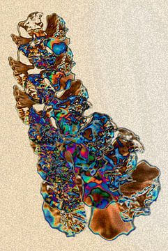 Abstractie - Beweging - #002 (dag versie) van Peter Baak
