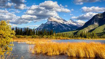 Zinnober-Seen, Banff, Kanada von Adelheid Smitt