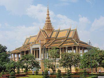 Royal Palace - Phnom Penh - Cambodia van Daniel Chambers